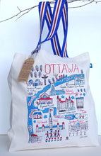 Load image into Gallery viewer, Ottawa Cityscape Canvas Tote