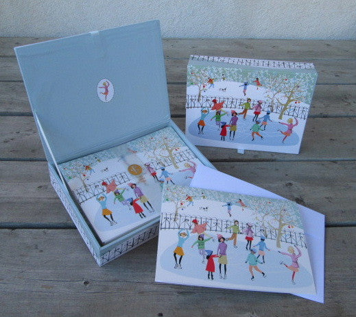 Park Skaters Deluxe Boxed Holiday Cards (20)
