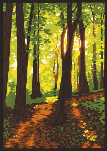 Sympathy Card- Artists to Watch: Forest Light  #CL472S