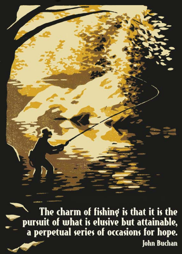 Artists to Watch Birthday Card: The Charm of Fishing   #CL470B