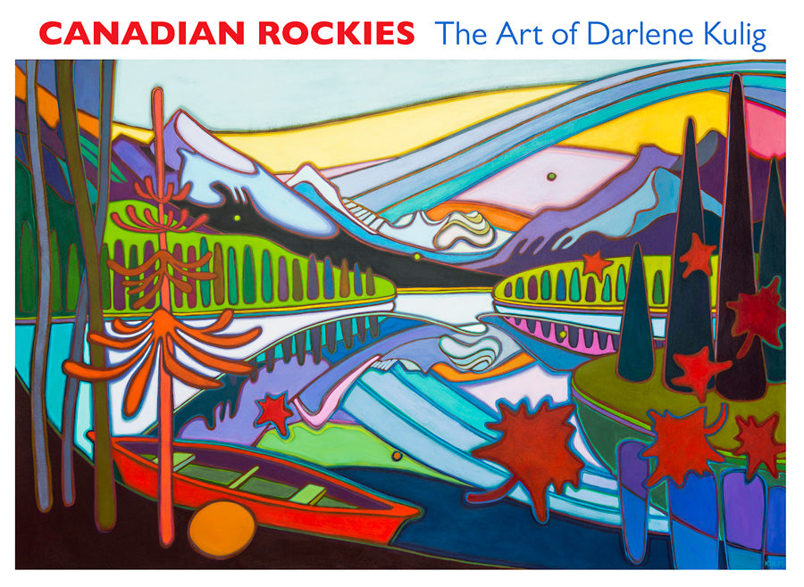 Darlene Kulig: Canadian Rockies Boxed Notecard Assortment  #0494