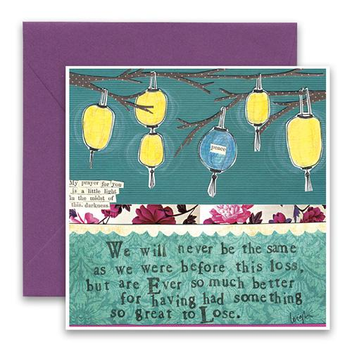 Sympathy Card- Curly Girl: Before The Loss    #SQIM28