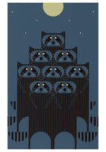 Load image into Gallery viewer, Charley Harper: Raccoons Note Folio   #0991