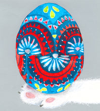 Load image into Gallery viewer, Easter Card- Dear Hancock: Hand Painted Egg  #GC312
