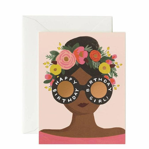 Birthday Card- Rifle Paper Co: Flower Crown #B-38