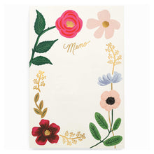 Load image into Gallery viewer, Rifle Memo Notepad- Wildflowers    NPB002