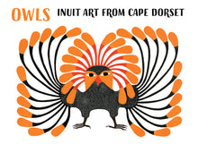 Load image into Gallery viewer, Cape Dorset: Owls Boxed Notecard Assortment  #0411-1