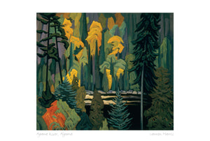 Agawa River, Algoma, n.d. by Lawren S. Harris (1885-1970) #31-20012