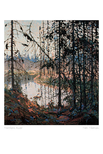 Northern River by Tom Thomson (1877-1917) #31-9660