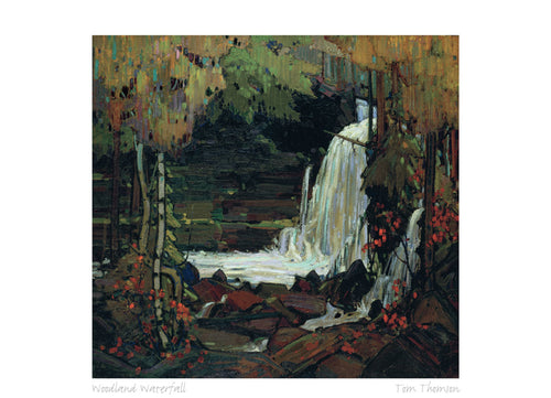 Woodland Waterfall 1916-1917 by Tom Thomson (1877-1917) #31-9661