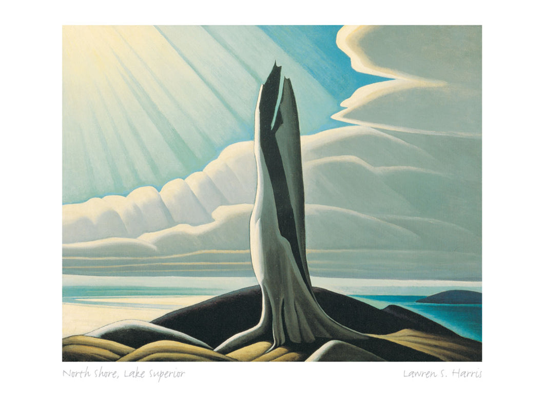 North Shore, Lake Superior by Lawren S. Harris (1885-1970) #31-9667
