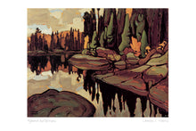 Load image into Gallery viewer, Algoma Reflections by Lawren S. Harris (1885-1970) #31-9675