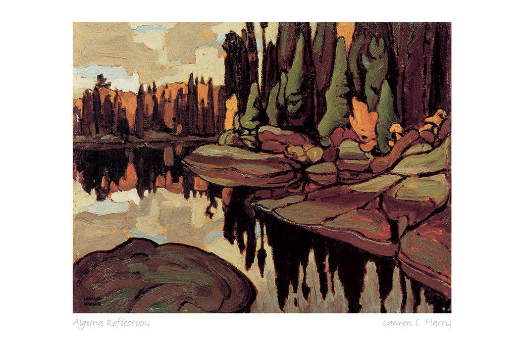 Algoma Reflections by Lawren S. Harris (1885-1970) #31-9675