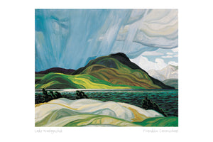 Lake Wabagishik 1928 by Franklin Carmichael (1890-1945) #31-9688