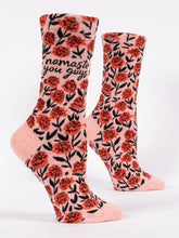 Load image into Gallery viewer, Women's Crew Socks: Namaste You Guys  SW507