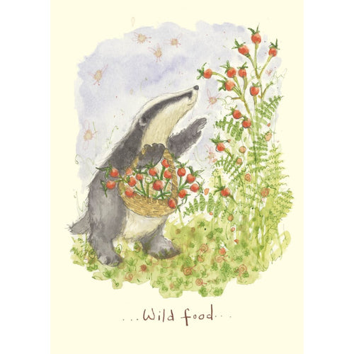 Two Bad Mice Card- Wild Food  IF177