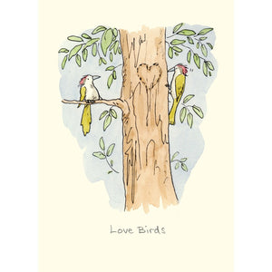 Two Bad Mice Card: Love Birds  #M325