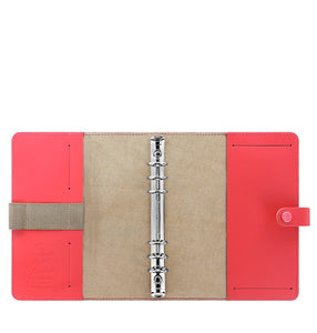 Filofax A5 Binder- The Original: Coral  C022599