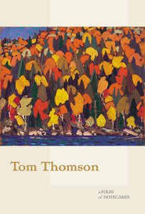 Tom Thomson Note Folio  #0821