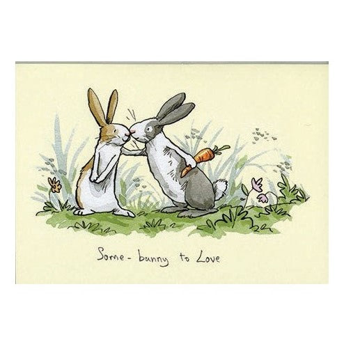 Two Bad Mice Card: Some Bunny To Love  #M177