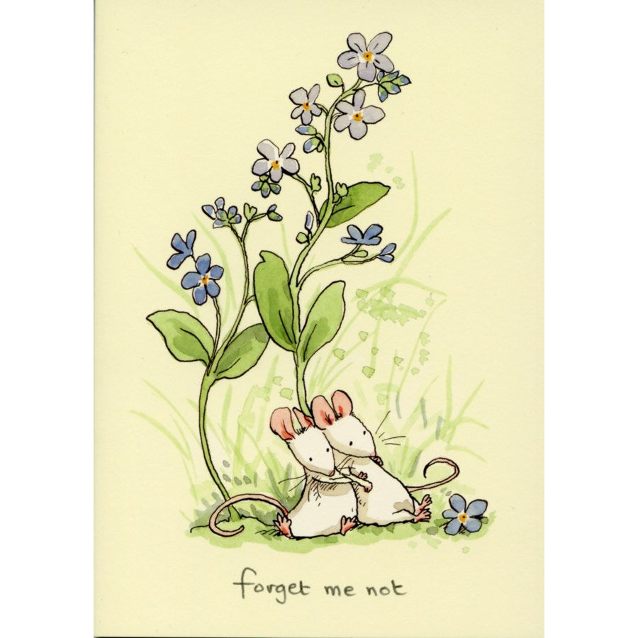 Two Bad Mice Card: Forget-Me-Not   #M223