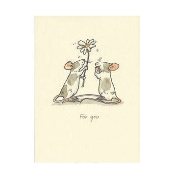 Two Bad Mice Card: For You   #M22