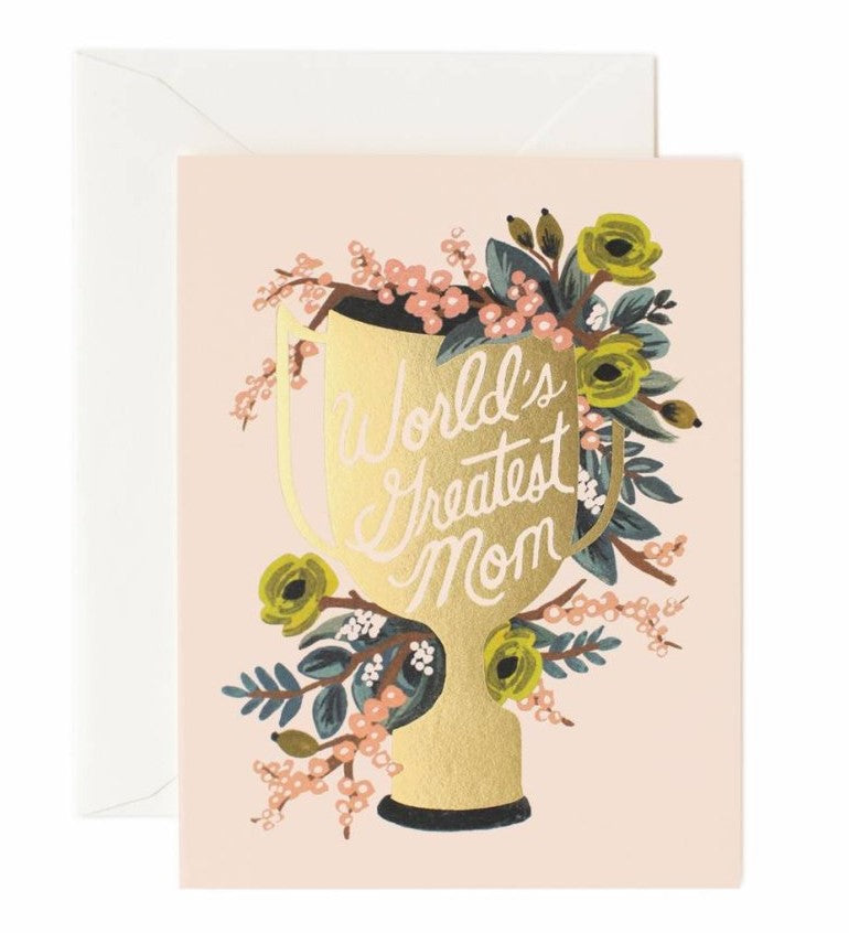 Mother's Day Card- Rifle Paper: Trophy #M-09