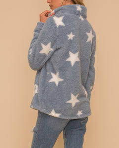 Star Sherpa Sweater/Jacket
