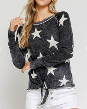 Load image into Gallery viewer, Burnout Star Sweater
