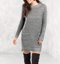 Load image into Gallery viewer, Mud Pie Jordy Sweater Dress