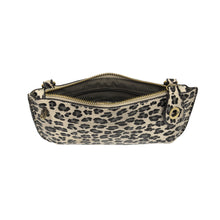 Load image into Gallery viewer, Soft Vegan Leopard Print Wristlet/Crossbody 2 colors