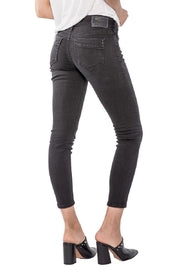 Silver Jeans Co Black Skinny Pants Crop Jeans