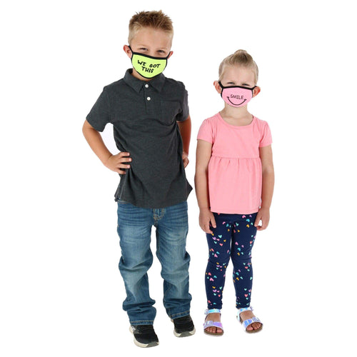 Reusable, Washable, Adjustable Kids Child Mask Made in USA