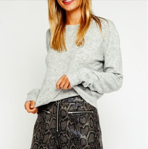 Olivaceous Winter Sweater