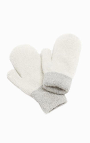 Two Tone Mittens