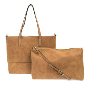 Brushed 2 in 1 Tote
