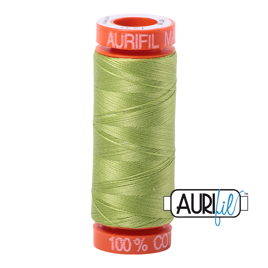 Aurifil Thread - 50 wt - 200 meters - Spring Green - MK50SP200-1231
