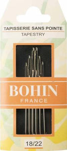 Bohin Tapestry Needles Assorted Sizes 18-22