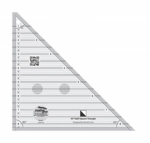 "Creative Grid 45 Degree Half-Square Triangle 8-1/2"" -CGRT45"