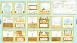 Cotton Tale Farm Book Panel