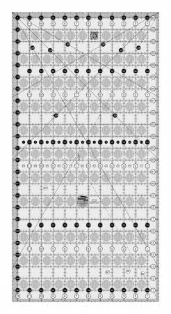 Creative Grids Quilt Ruler 12-1/2in x 24-1/2in # CGR1224