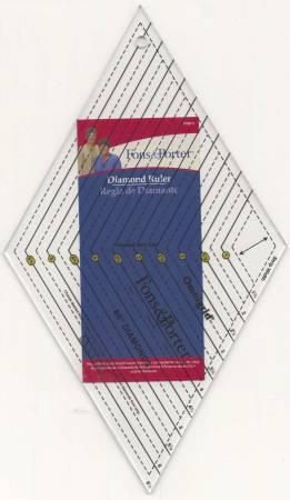 Diamond Ruler Sizes 1in to 6in # FPR7890