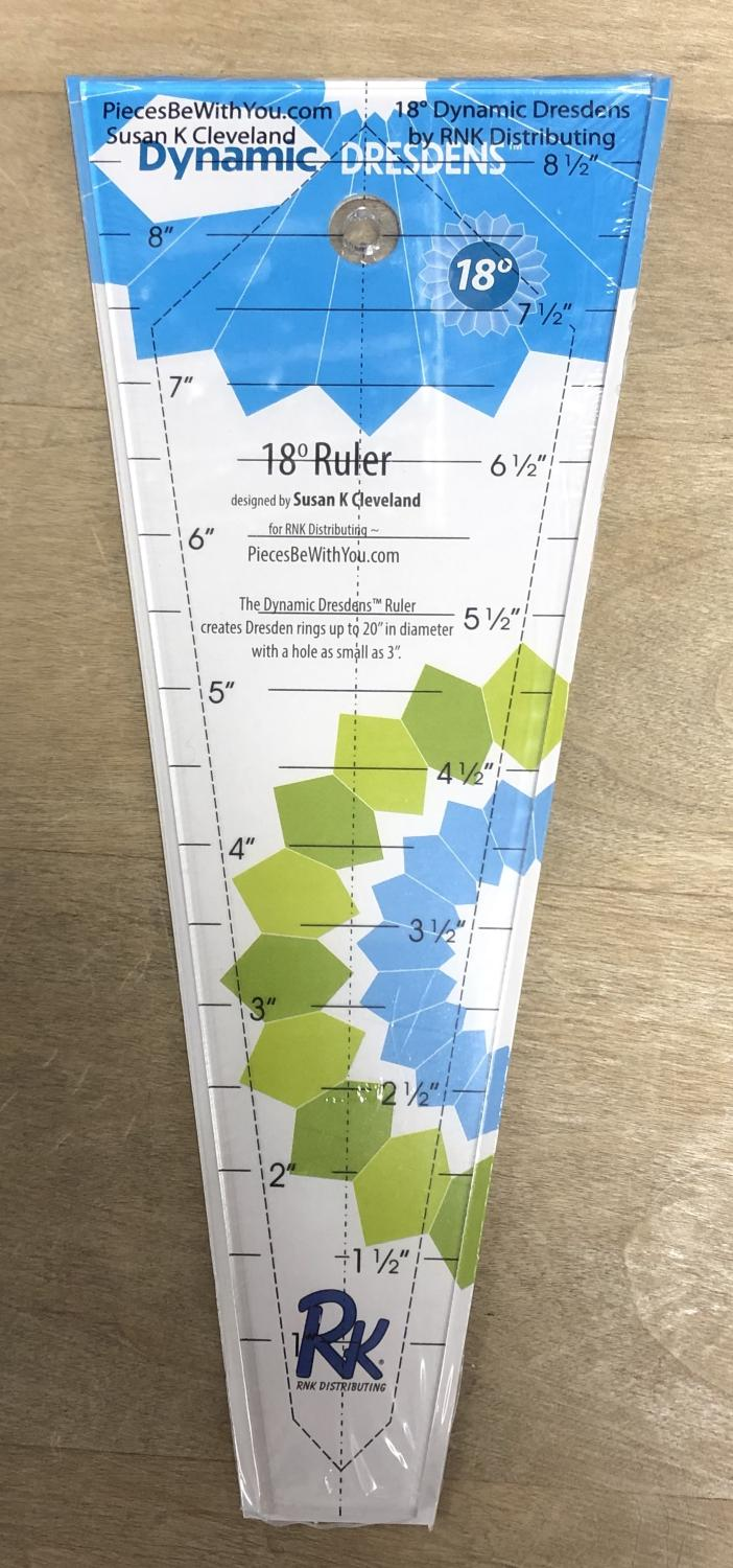 "Dynamic Dresden 18"" Template Ruler - DDruler18"