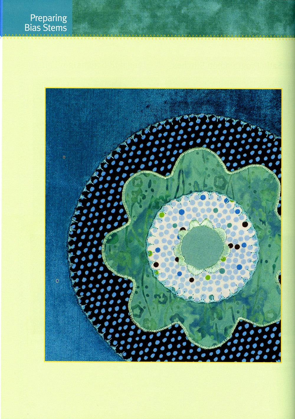 First-Time Machine Applique  -Softcover - L113015