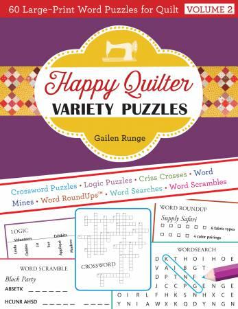 Happy Quilter Variety Puzzles Volume 2 # 20390