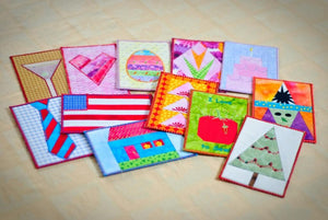 Hooped Postcards (Machine Embroidery CD)