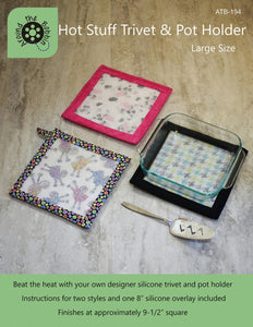 Hot Stuff Trivet Silicone - Large