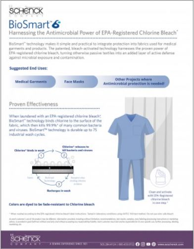 Biosmart Antimicrobial Cloth - CL1BAC-BLA