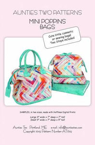 Mini Poppins Bags w/Stays - AT629
