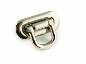 Oval Flip Lock - Nickel